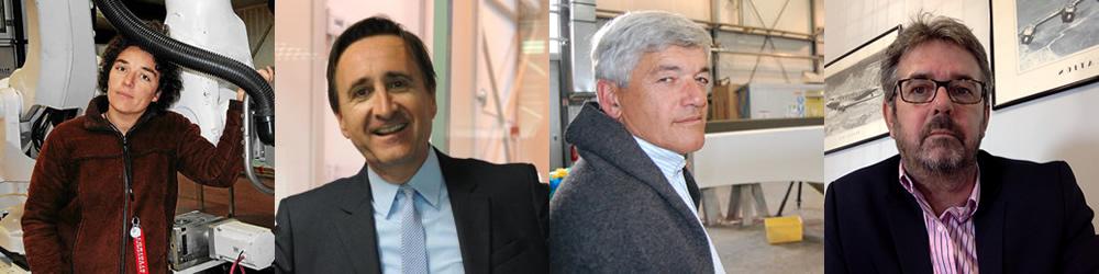 Cléméntine Gallet, Frédéric Lescure, Dominique Dubois, Thierry Haure-Mirande