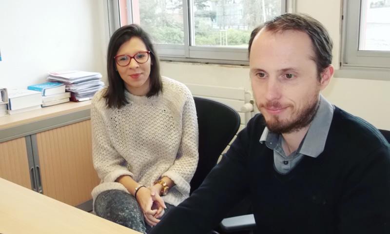 Floriane et Ludovic Chamoin-Foucault chez Kéolys