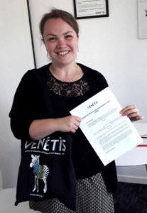 Angélique Yannic assistante comptable  chez Vénétis
