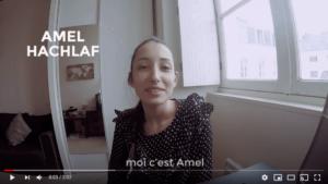 CV confiné d'Amel Hachlaf, nouvelle salariée Vénétis