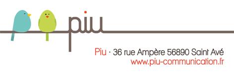 Logo Piu Communication