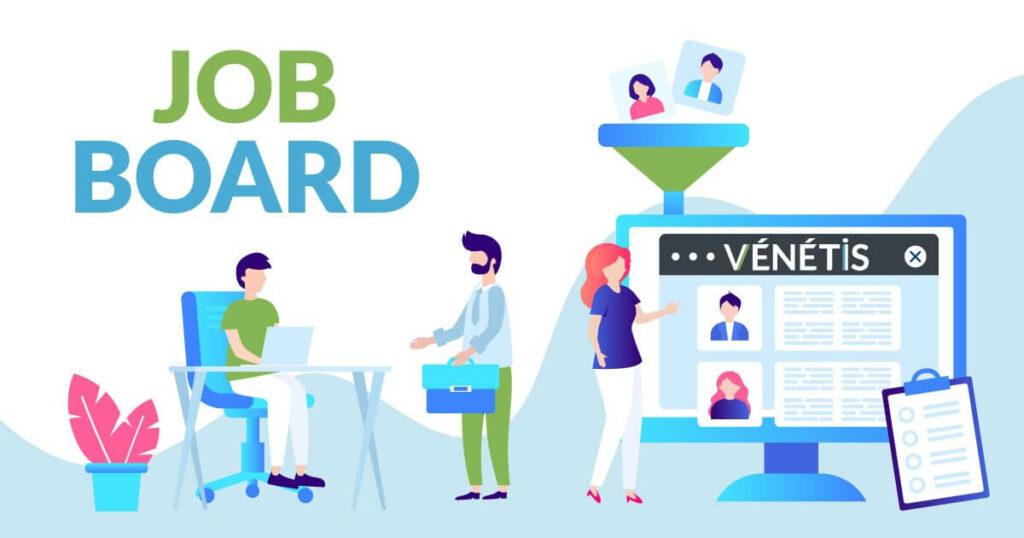Jobboard mutualisé Vénétis réservé aux adhérents