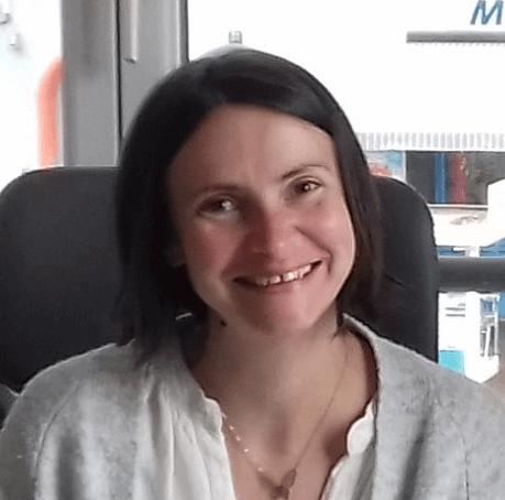 Christelle Bacquet, assistante administrative à temps partagé