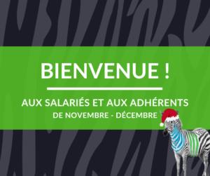 Nouveaux salariés et adhérents de Vénétis